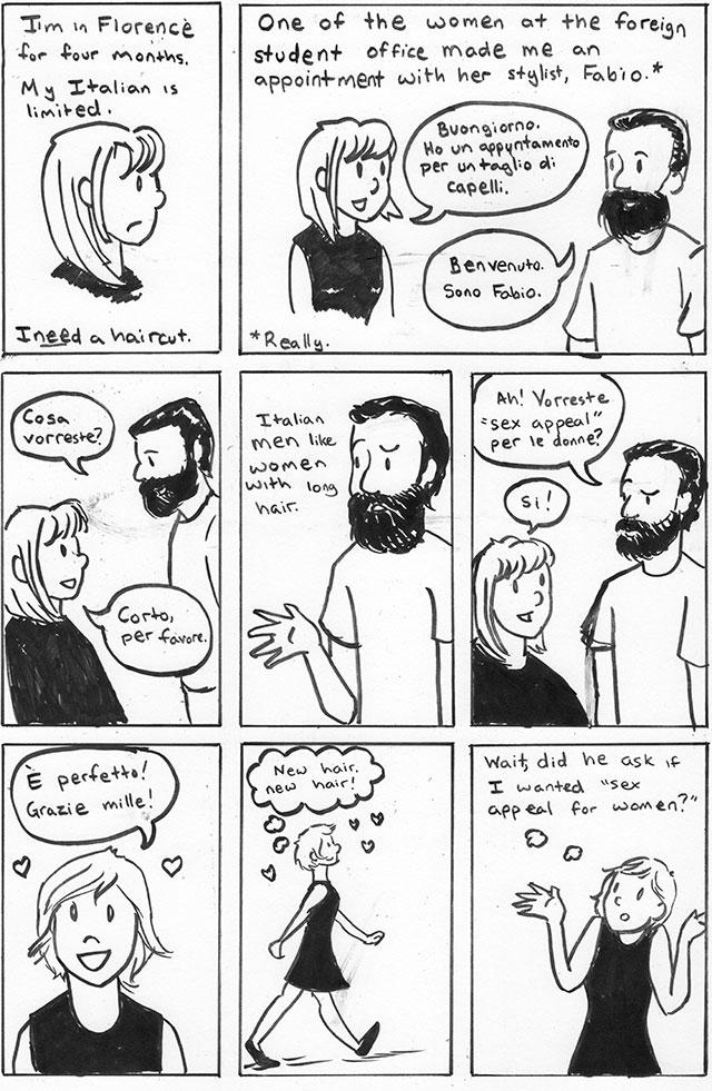 The Haircut – Beth Barnett